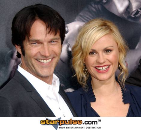 Stephen Moyer & Anna Paquin
