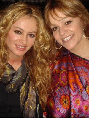 Paulina Rubio y Jenny Rivera
