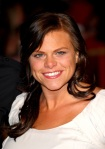 Jade Goody arrive at the The Accidental Husband UK Premiere at t