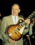 Les Paul receives the Heart Of Music award on May 06, 1993 at th