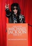 "Singer Michael Jackson announces ""This Is It,"" his 10-date O2 Ar"
